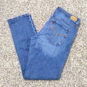 Levi's Women's Mid Rise Skinny Fit Jeans Sz 14